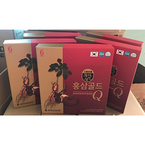 Nước Hồng Sâm Nhung Hươu Linh Chi Q Plus- Hàn quốc