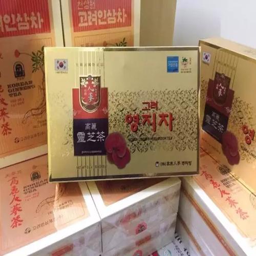 TRÀ NẤM LINH CHI LINGSHI MUSHROOM HÀN QUỐC