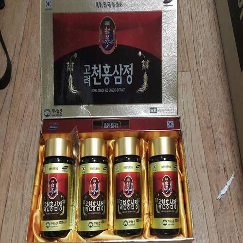 Cao hồng sâm 6 năm tuổi Korea Ginseng Bio Hàn Quốc- hộp 4 lọ