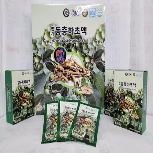 Nước Bổ Gan Đông Trùng Korean Hovenia Cordyceps Drinhk JEONG WON