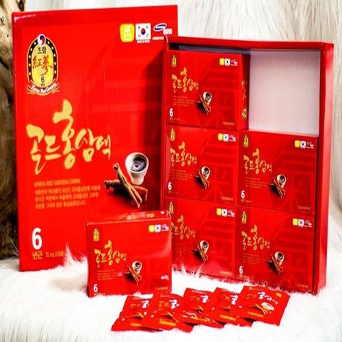 NƯỚC HỒNG SÂM 6 NĂM  KOREA RED GINGSENG DRINK