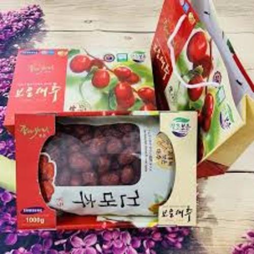 Táo Đỏ Sấy Khô Hàn Quốc hộp 1kg chính hãng