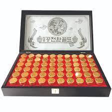 Đông Trùng Hạ Thảo Kanghwa Cao Cấp Hàn Quốc 60 viên 2 tem