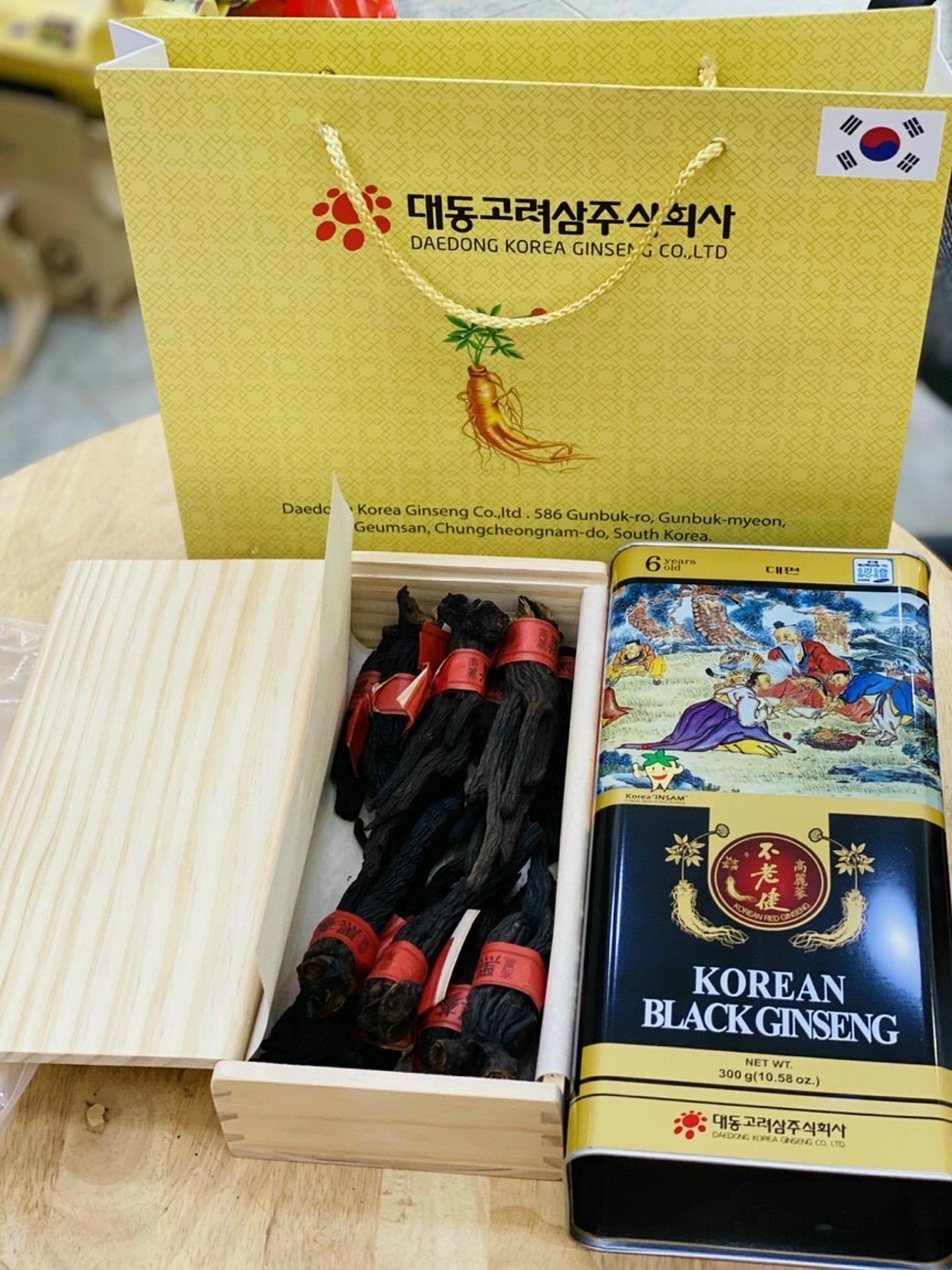 Các sản phẩm từ nhân sâm Hàn quốc